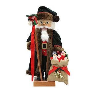 Nussknacker Weihnachtsmänner Nussknacker Weihnachtsmann tannengrün - 46,5cm