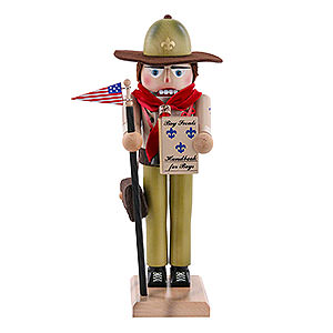 Nutcrackers Hobbies Nutcracker Boy Scout - 40cm / 16 inch