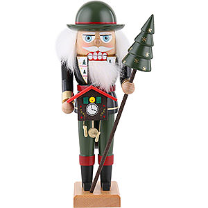 Nutcrackers Professions Nutcracker - Clock Dealer - 27 cm / 10.6 inch