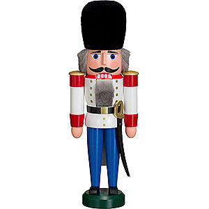 Nutcrackers Soldiers Nutcracker Dane white - 30 cm / 12 inch