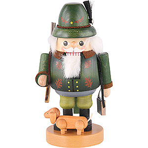 Nutcrackers Professions Nutcracker Forest Ranger with Dachsdog - 8 inch - 21 cm