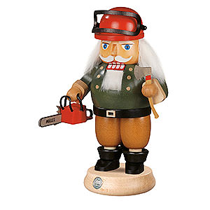 Nutcrackers Professions Nutcracker - Forest Worker with Saw - 23 cm / 9 inch