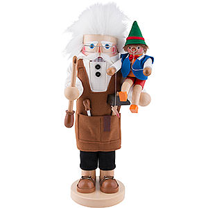 Nutcrackers Famous Persons Nutcracker - Geppetto - 40 cm / 16 inch - Limited Edition