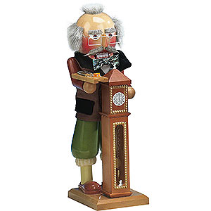 Nutcrackers Famous Persons Nutcracker Hickory Dickory Dock - 40cm / 16 inch - Limited Edition