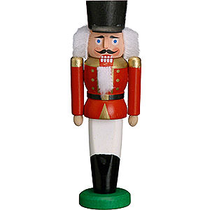 Nutcrackers Soldiers Nutcracker - Hussar Red - 9 cm / 3.5 inch