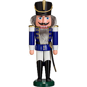 Nutcrackers Soldiers Nutcracker Hussar blue - 37 cm / 15 inch