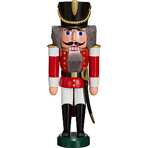 Nutcrackers Soldiers Nutcracker Hussar red - 28 cm / 11 inch