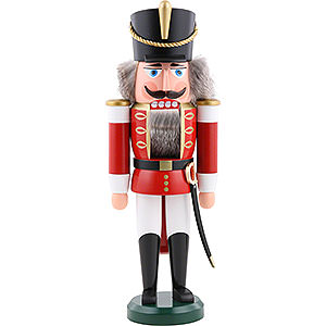 Nutcrackers Soldiers Nutcracker Hussar red - 37 cm / 15 inch