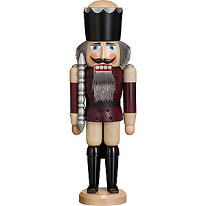 Nutcrackers Kings Nutcracker - King - Ash -  Aubergine - 38 cm / 15 inch
