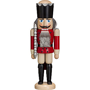 Nutcrackers Kings Nutcracker - King - Ash -  Red - 38 cm / 15 inch