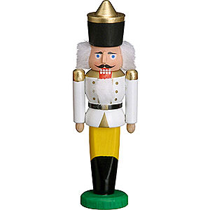 Nutcrackers Kings Nutcracker - King White - 9 cm / 3.5 inch