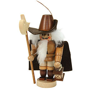 Nutcrackers Professions Nutcracker Mini Nightwatchman natural colors - 12,0 cm / 5 inch