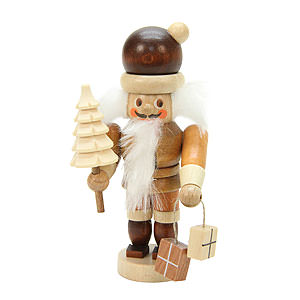 Nutcrackers Santa Claus Nutcracker - Mini Santa Claus Natural Colors - 10,0 cm / 4 inch