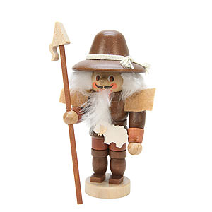 Nutcrackers Professions Nutcracker Mini Shepherd natural colors - 10,5 cm / 4 inch