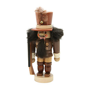 Nutcrackers Soldiers Nutcracker - Mini Soldier Natural Colors - 10,5 cm / 4 inch