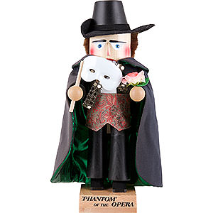 Nutcrackers Famous Persons Nutcracker - Phantom of the Opera - 40 cm / 16 inch
