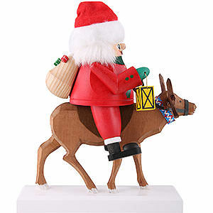 Nutcrackers Santa Claus Nutcracker - Santa with Reindeer - 26 cm / 10 inch