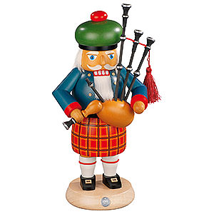 Nutcrackers Misc. Nutcrackers Nutcracker - Scotsman with Bagpipe - 27 cm / 11 inch