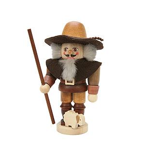 Nutcrackers Professions Nutcracker Shepherd natural colors - 15,0 cm / 6 inch