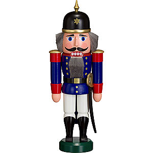 Nutcrackers Soldiers Nutcracker Soldier blue - 27 cm / 11 inch