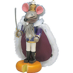 Nutcrackers Kings Nutcracker The Mouse King - 13cm / 5 inch - Limited Edition