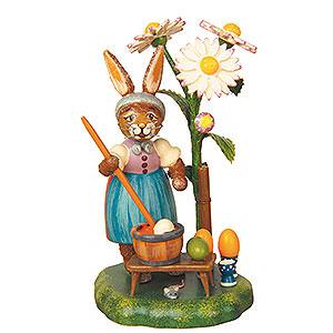 Kleine Figuren & Miniaturen Tiere Hasen Ostereierfärberei - 10cm