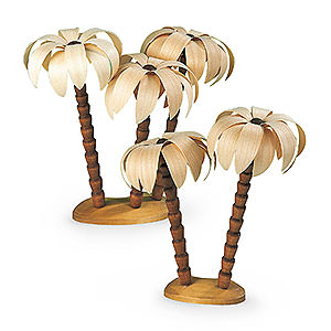 Small Figures & Ornaments Manger-Figurines (Müller) Palm tree groups - 17 cm / 7 inch