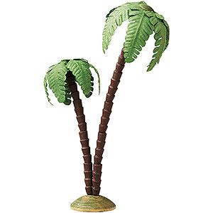 Weihnachtsengel Günter Reichel Dekoration Palme doppelt - 16cm