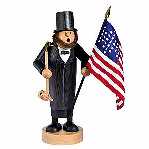 Räuchermänner Bekannte Personen Räuchermännchen Abraham Lincoln - 26cm