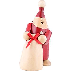 Räuchermänner Weihnachtsmänner Räuchermännchen Alex mit Sack - 17 cm