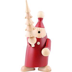 Räuchermänner Weihnachtsmänner Räuchermännchen Andy mit Baum - 19cm