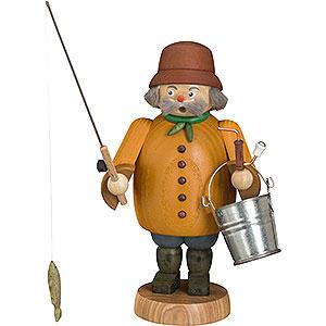 Räuchermänner Hobbies Räuchermännchen - Angler - 22cm