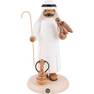 Räuchermänner Hobbies Räuchermännchen Araber mit Falke und Shisha - 27cm