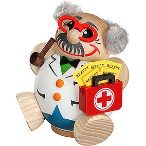 Räuchermänner Berufe Räuchermännchen Arzt - 12cm
