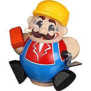 Räuchermänner Berufe Räuchermännchen Bauarbeiter - 11 cm