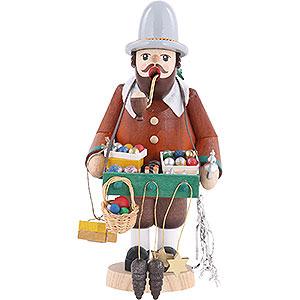 Räuchermänner Berufe Räuchermännchen Baumschmuckhändler - 18 cm