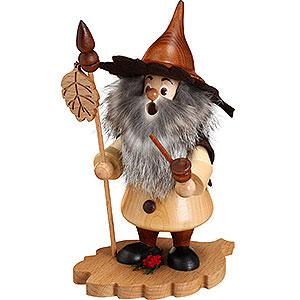 Räuchermänner Sonstige Figuren Räuchermännchen Baumwichtel Erlenblatt - 18cm