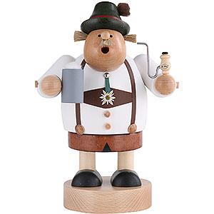 Räuchermänner Sonstige Figuren Räuchermännchen Bayer mit Bierkrug - 20 cm