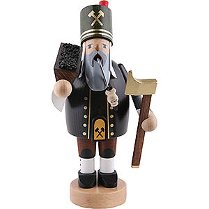 R�ucherm�nner Berufe R�ucherm�nnchen Bergmann mit Erzkiste - 20 cm