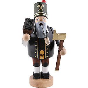 Räuchermänner Berufe Räuchermännchen Bergmann mit Erzkiste - 20 cm