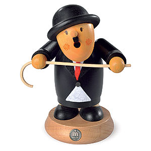 Räuchermänner Bekannte Personen Räuchermännchen Charlie Chaplin - 16cm