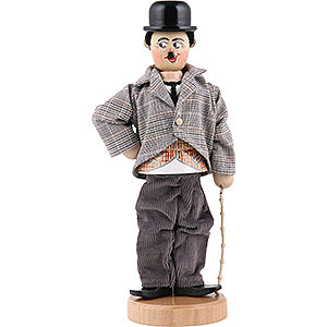 Räuchermänner Bekannte Personen Räuchermännchen Charlie Chaplin - 23,5cm