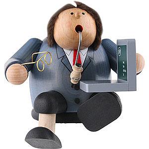 Räuchermänner Berufe Räuchermännchen Computerexperte - 15 cm