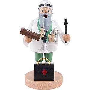 Räuchermänner Berufe Räuchermännchen Doktor - 19 cm