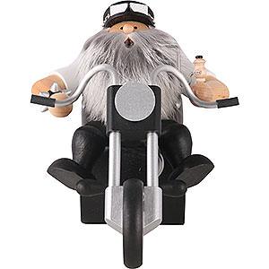 Räuchermänner Hobbies Räuchermännchen Easy Rider - 19cm
