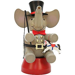 R�ucherm�nner Tiere R�ucherm�nnchen Elefant Zirkusdirektor - 22,0cm