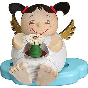 Räuchermänner Sonstige Figuren Räuchermännchen Engel mit Erzgebirgspyramide - 10 cm