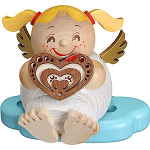 Räuchermänner Sonstige Figuren Räuchermännchen Engel mit Lebkuchen - 10 cm
