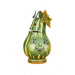 Räuchermänner Sonstige Figuren Räuchermännchen Flaschenkürbis - 16 cm