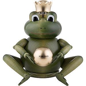 Räuchermänner Bekannte Personen Räuchermännchen Froschkönig - 24cm